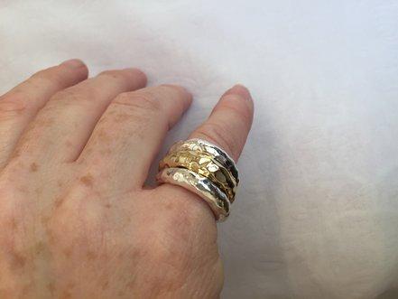 <b>T-021</b> - טבעת מרוקעת